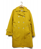 Traditional Weatherwear(トラディショナルウェザーウェア)の古着「トレンチコート」|イエロー