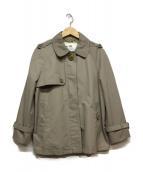 COACH(コーチ)の古着「ショートコート」|グレー
