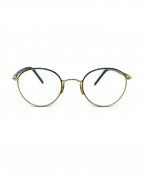 Ayame(アヤメ)の古着「伊達眼鏡」 ゴールド