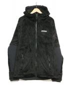F.C.R.B.(エフシーアールビー)の古着「フリースジャケット」 ブラック