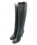 CHEMBUR()の古着「ロングブーツ」|ブラック