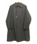 ANATOMICA(アナトミカ)の古着「シングルラグランコート」|ブラック