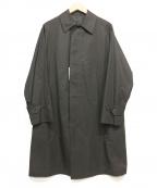 ANATOMICA()の古着「シングルラグランコート」|ブラック