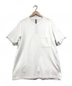 KAZUYUKI KUMAGAI ATTACHMENT(カズユキクマガイアタッチメント)の古着「ポケットTシャツ」|ホワイト