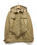 BURBERRY BRIT(バーバリーブリット)の古着「キルティングジャケット」|ベージュ