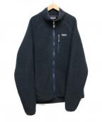 Patagonia(パタゴニア)の古着「Retro Pile Fleece Jacket」|ネイビー