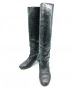 tsumori chisato(ツモリチサト)の古着「ロングブーツ」|ブラック