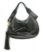 Vivienne Westwood(ヴィヴィアンウエストウッド)の古着「タッセルハンドバッグ」|ブラック
