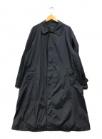 ()の古着「ステンカラーナイロンコート」|ネイビー