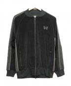 Needles(ニードルス)の古着「ベロアトラックジャケット」|ブラック