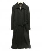 TOMORROW LAND()の古着「カシミヤコート」|ブラック