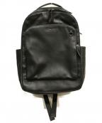 COACH()の古着「レザーバックパック」 ブラック