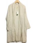 08MAB(ゼロハチマブ)の古着「トッパーリネンコート」|アイボリー
