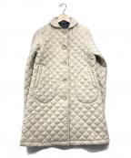 Traditional Weatherwear()の古着「ウールキルティングコート」 ベージュ