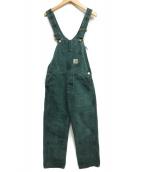 CarHartt(カーハート)の古着「オーバーオール」|グリーン