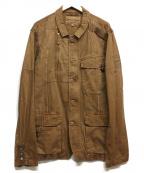 AVIREX(アヴィレックス)の古着「ミリタリージャケット」|ブラウン