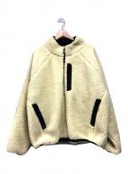()の古着「リバーシブルボアジャケット」|ベージュ