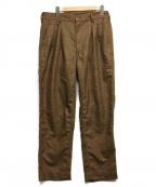 CORONA(コロナ)の古着「2T DESERT SLACKS」|ブラウン