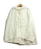 FREAKS STORE(フリークスストア)の古着「コットンフーデッドコート」|ホワイト