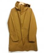 INHERIT(インヘリット)の古着「フーデッドコート」|ブラウン