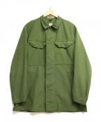 ノーブランド(ノーブランド)の古着「ミリタリージャケット」 グリーン