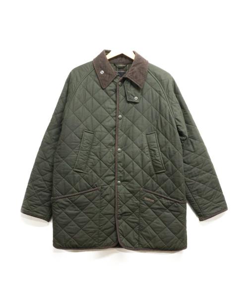 Barbour(バブアー)Barbour (バーブァー) オイルドキルティングジャケット グリーン サイズ:40の古着・服飾アイテム