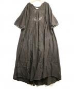 sara mallika(サラマリカ)の古着「レースマキシワンピース」|ブラウン