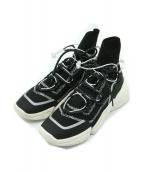 ()の古着「K Sock High Top W」|ブラック×ホワイト
