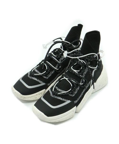 KENZO(ケンゾー)KENZO (ケンゾー) K Sock High Top W ブラック×ホワイト サイズ:37の古着・服飾アイテム