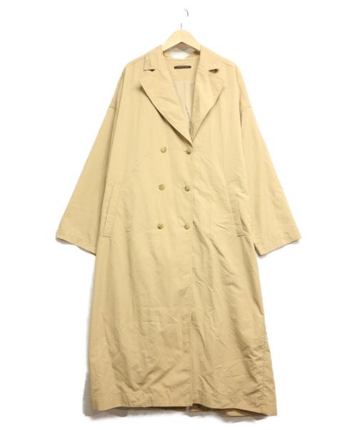 BARNEYS NEWYORK(バーニーズ・ニューヨーク)BARNEYS NEWYORK (バーニーズ・ニューヨーク) ワッシャートレンチコート ベージュ サイズ:1の古着・服飾アイテム