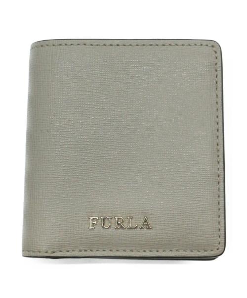 FURLA(フルラ)FURLA (フルラ) ミニウォレット グレーの古着・服飾アイテム