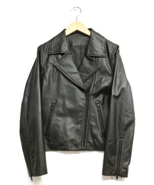 LVEU(-)LVEU (-) ラムレザージャケット ブラック サイズ:Sの古着・服飾アイテム