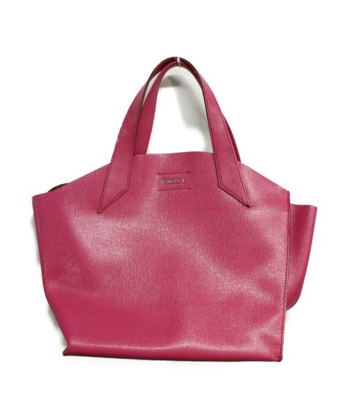 FURLA(フルラ)FURLA (フルラ) ハンドバッグ ピンクの古着・服飾アイテム
