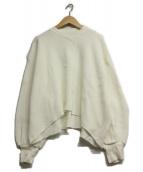 CLANE(クラネ)の古着「サーマルボリュームスリーブカットソー」|ホワイト