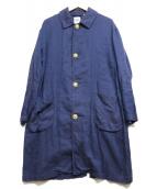 DANTON(ダントン)の古着「ショップコート」|ブルー