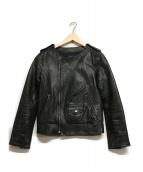 MACPHEE(マカフィー)の古着「ライダースジャケット」|ブラック