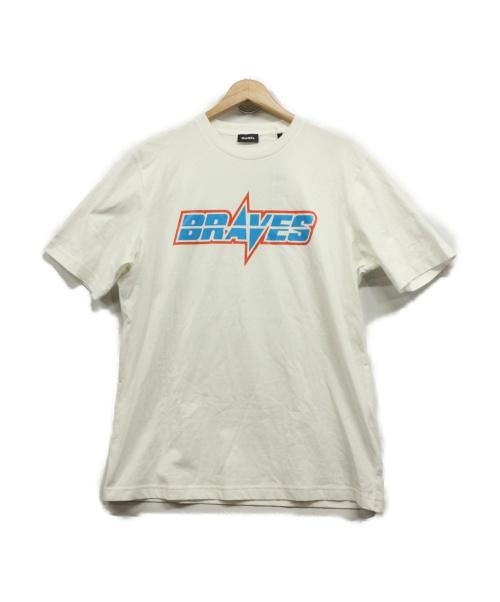 DIESEL(ディーゼル)DIESEL (ディーゼル) BRAVESTシャツ ホワイト サイズ:Mの古着・服飾アイテム