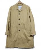 ROSSO()の古着「ストレッチステンカラーコート」|ベージュ
