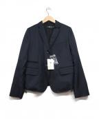 +J(プラス ジェイ)の古着「ウールテーラードジャケット」|ネイビー