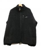 OY(オーワイ)の古着「バックロゴボアジャケット」|ブラック
