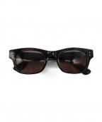 金子眼鏡(カネコメガネ)の古着「celluloid」|ブラック