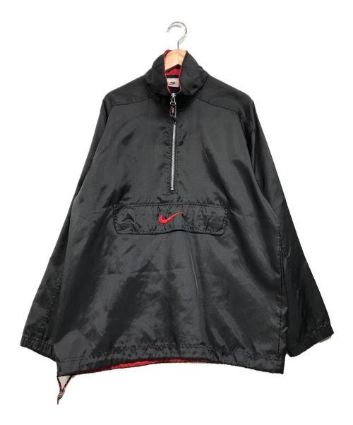 NIKE(ナイキ)NIKE (ナイキ) ナイロンハーフジッフジャケット ブラック サイズ:Mの古着・服飾アイテム