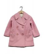 Kate Spade(ケイトスペード)の古着「Pコート」|ピンク
