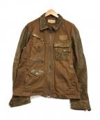 AVIREX(アヴィレックス)の古着「メカニックモディファイジャケット」|ブラウン