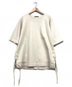 DISCOVERED(ディスカバード)の古着「プルオーバーシャーリングシャツ」|アイボリー