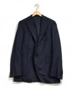 TOMORROW LAND()の古着「ウールテーラードジャケット」|ネイビー