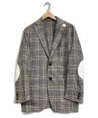 L.B.M.1911(ルビアム1911)の古着「リネン混テーラードジャケット」|ホワイト×ブラウン