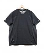 alk phenix(アルクフェニックス)の古着「リフレクターカットソー」|ブラック