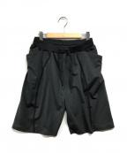 alk phenix(アルクフェニックス)の古着「orbit shorts」|ブラック