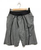 alk phenix(アルクフェニックス)の古着「orbit shorts」|グレー